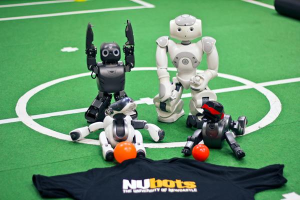 robots groupshot