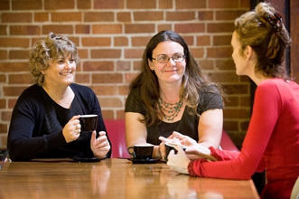 Female staff networking
