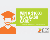 Win $1000 Visa Cash Card (T%26Cs apply)
