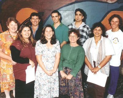 Wollotuka staff in the 1990s