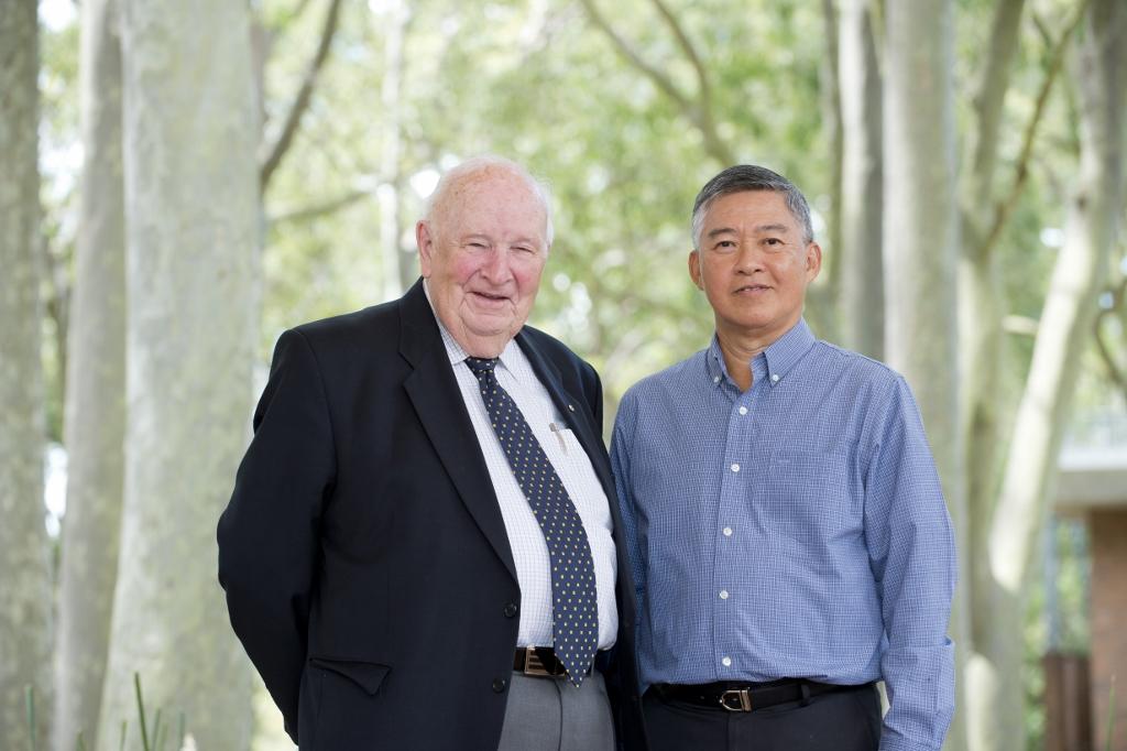 Alan Roberts and Choo Heng Thong