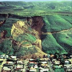 La Conchita landslide