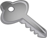 Picture of a key