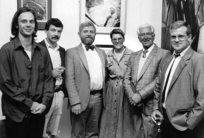 Watt Space opening 1989