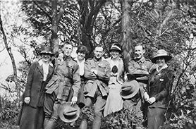 Australian Soldiers on leave WW1
