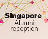 Singapore Alumni reception graphic